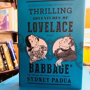 Graphic Novel. Lovelace and Babbage